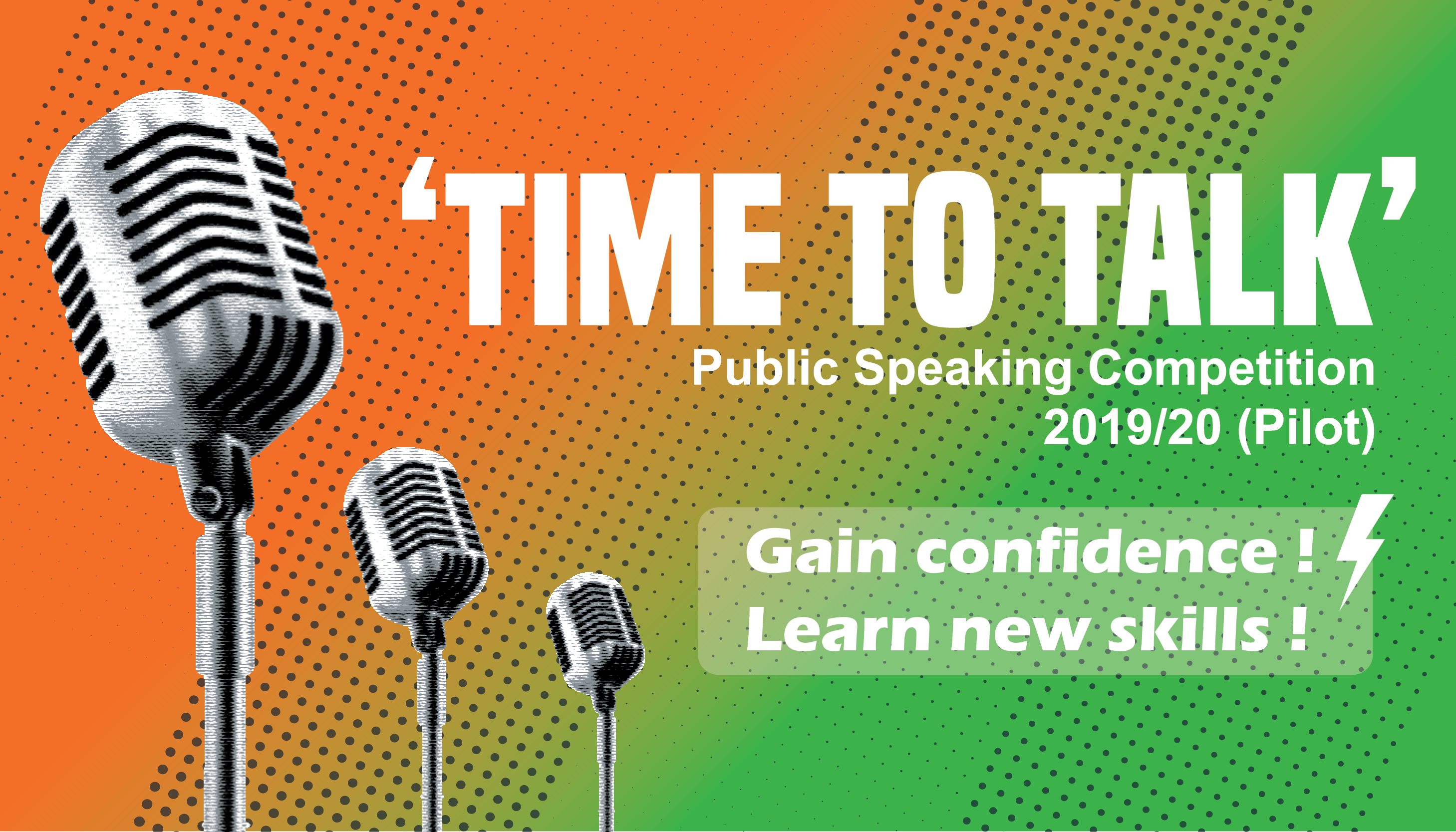 Public Speaking 'Time to Talk' (Pilot)