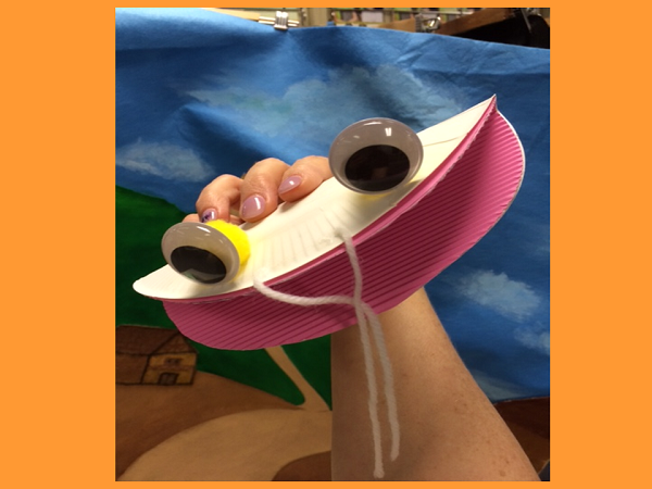 Paper plate puppets(PPT)