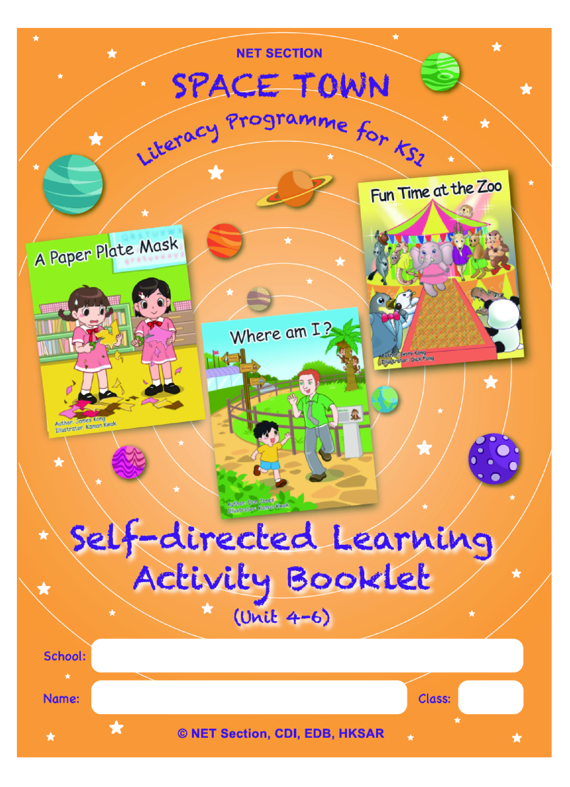P1 Term 2 SDLA Booklet Units 4-6
