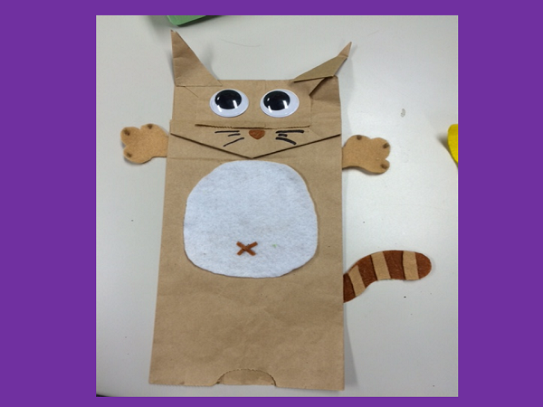 Paper bag puppets(PPT)