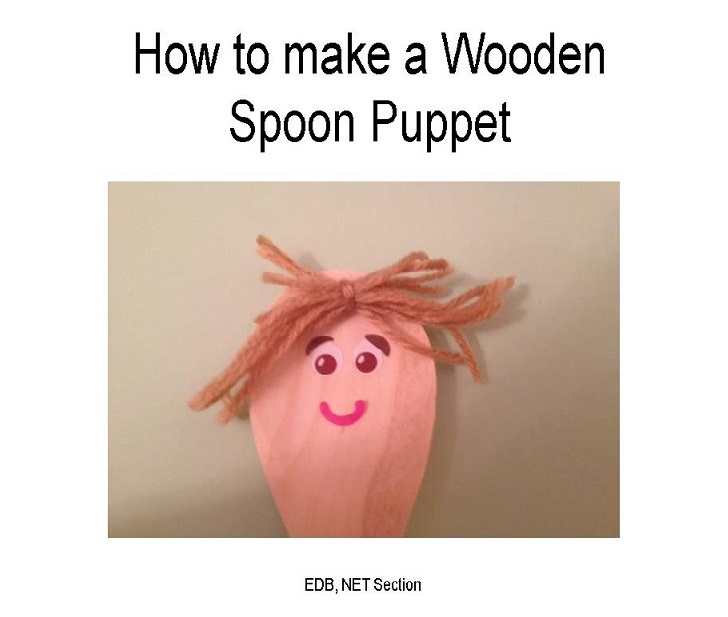 How to Make a Wooden Spoon Puppet [PPT]