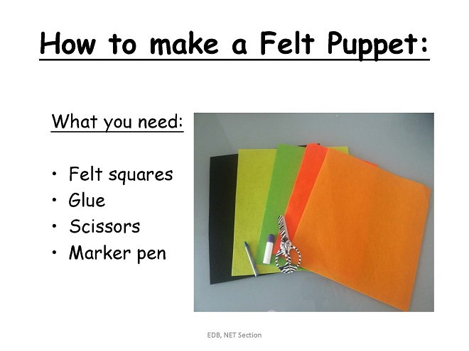 How to Make a Hand (Felt) Puppet [PPT]