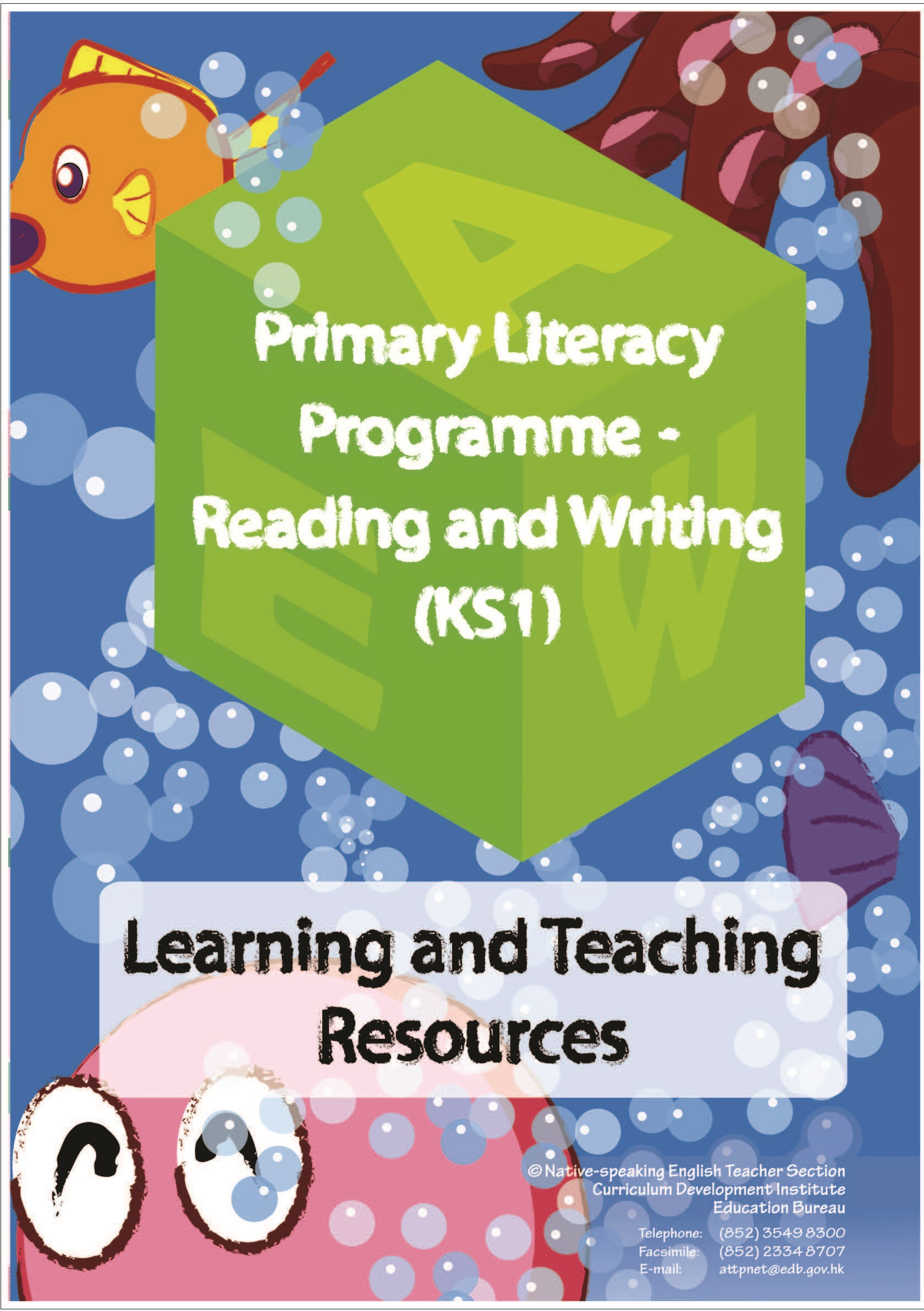 PLP-R/W (KS1) Learning and Teaching Resources leaflet [PDF]