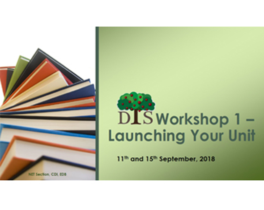 Introduction to the Development of Text Sets (DTS) Programme Day 1 - Launching Your Unit (Refreshed)