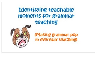 Teaching Grammar: Identifying Teachable Moments CPD