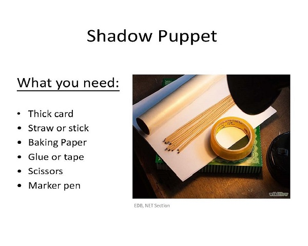 How to Make Shadow Puppet [PPT]
