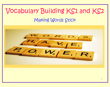 Vocabulary Building for KS1 and KS2 CPD