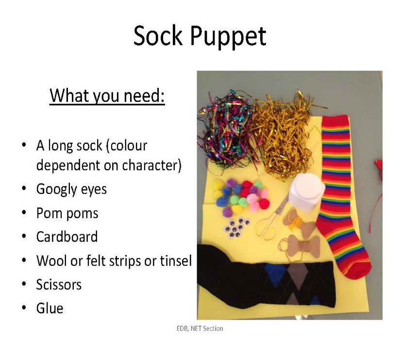 How to Make a Sock Puppet [PPT]