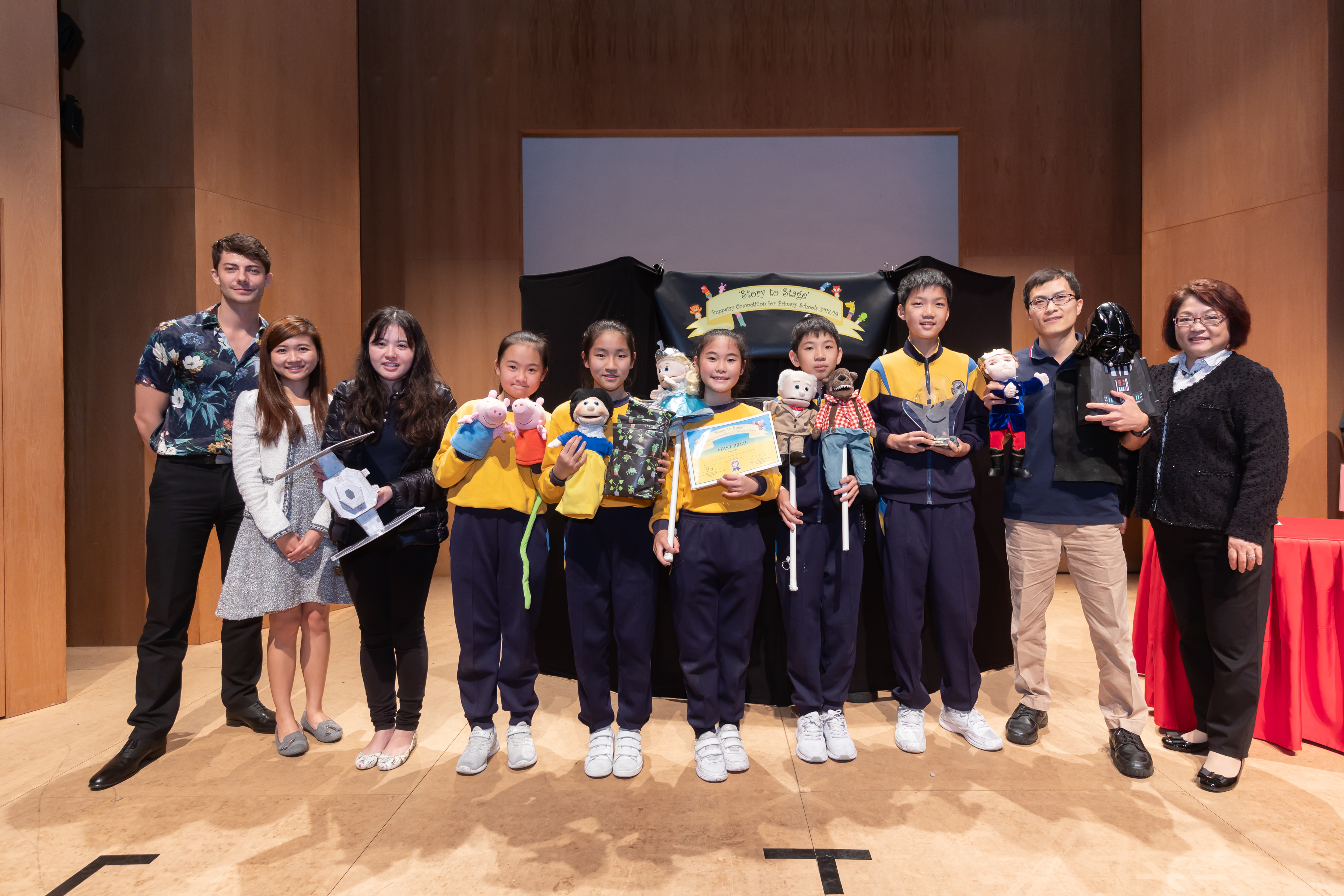 Puppetry Competition 2019 Videos of the 1st Prize Puppery Shows